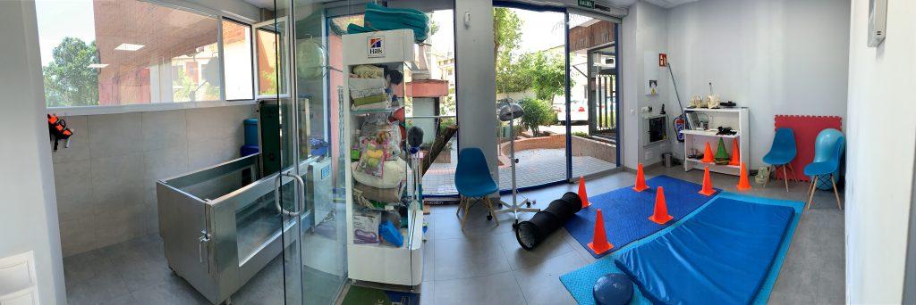 Sala de rehabilitación e hidroterapia